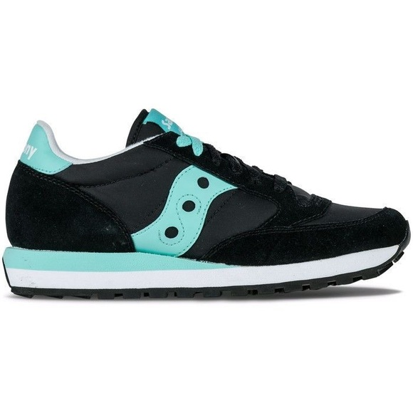 separation shoes c809d daf03 Saucony Women's Jazz Original Black / Mint Green